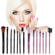 7pcs/kits Professional Nylon Makeup Brushes Set Cosmetics Foundation Brush Tools For Face Powder Eye Shadow Eyeliner Lip