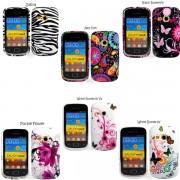 Samsung Galaxy mini 2 S6500 Flora2 Силиконов Калъф + Протектор
