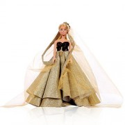 Barbie, Barbie Doll, barbies, Ball Gowns, Barbie Toys, Barbie Clothes, Barbie Accessories(Barbie Blanket and Packing Pouch Free with The Dress)((Barbie Doll not Included )
