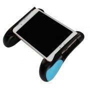 Suporte Universal tipo Comando de Jogos para Smartphones - Preto / Azul