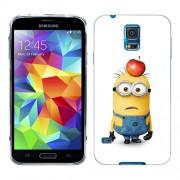 Husa Samsung Galaxy S5 Mini G800F Silicon Gel Tpu Model Minions