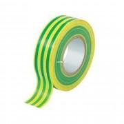 Tracon ZS20 20mX18mm zöld-sárga szigetelőszalag