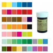 Pastkolor Colorante en pasta de 25 g - Sugar flair - Color Marrón castaña