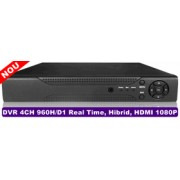 DVR 4 canale real time H264 Hibrid, iesire HDMI, HDi_6004T