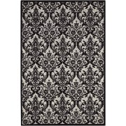 Nourison - Damask-Black White - DAS02 - 244 X 305 cm