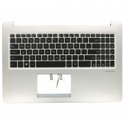 Asus Laptop Uppercover + Toetsenbord US voor Asus VivoBook Pro N580VD-E4428T