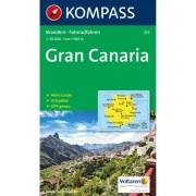 Kompass Carta N.237: Gran Canaria - 1:50.000