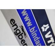 Koffergurt 1-farbiger Einwebung von Logo oder Text