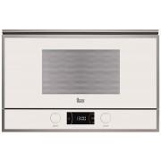 Cuptor cu microunde Teka ML 822 BIS L White, incorporabil, 22 litri, 850 W, grill 1200 W, 5 trepte de putere, alb