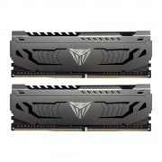 DDR4, KIT 16GB, 2x8GB, 3000MHz, Patriot Viper Steel (PVS416G300C6K)