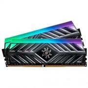 16GB DDR4-2666MHz ADATA XPG D41 RGB CL16, 2x8GB grey