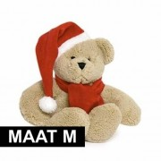 Geen Knuffel kleding rode sjaal maat M voor Clothies knuffels