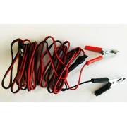 Cablu de alimentare 1.5 m 12 V pentru Sonic Birdchaser Pestmaster împotriva păsărilor