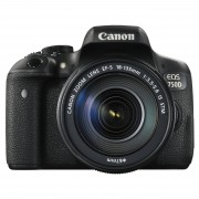 Canon EOS 750d con ef-s 18-135 IS STM