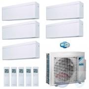 Daikin Penta Split 2.5+2.5+2.5+2.5+2.5 +9.0 kW Stylish Wit 5MXM90N Air Conditioner Warmtepomp WiFi A++/A+ 9+9+9+9+9 Btu