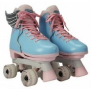 Patine cu rotile Circle Society Cotton Candy reglabile 34-39