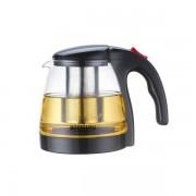 Cana Infuzor Sticla Ceai si Cafea Sita Inox 1.3l Bohmann BH9673
