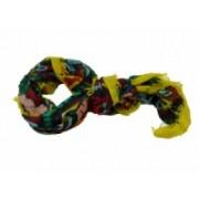Šátek rustikální žlutý 8018-2 8018-2