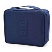 TRACEY Portable Waterproof Multi Pouch Travel Toiletry Cosmetic Makeup Case Storage Bag Travel Toiletry Kit(Blue)