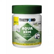 Saculeti Aqua Kem Green Sachets - Dezinfectant ecologic