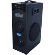 PALCO M1500 Single Tower Speaker System (Black) with Bluetooth USB Aux FM