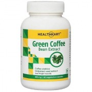 HealthKart Green Coffee Bean Extract (45 CGA) For Weight Management-60 Capsules