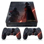 "Controller Gear Officially Licensed Star Wars Jedi: Fallen Order ""Empire Scatter"" PS4 Slim Console & Controller Skin PlayStation"