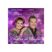 Marianne Weber & John De Bever Dat Is De Liefde Nederlandstalig CD
