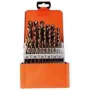 Projahn Spiraalborenset Projahn BASIC, 25 korte spiraalboren, in metalen koffer