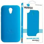 MyWiGo CO4192A Silicon blue bumper for MyWigo Turia 2 - Blue