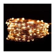 Lanț de crăciun LED 5,4 m 50xLED/3xAA 2700K