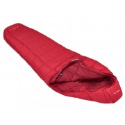 VAUDE Sioux 100 SYN - dark indian red - Sacs de Couchage Synthetik left