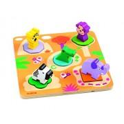 Djeco Dj01045 Wooden Puzzle Mati Puzzle