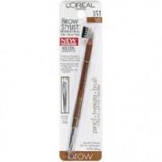 Kit 3 in 1 pentru sprancene: creion, penseta si periuta - Medium Dark