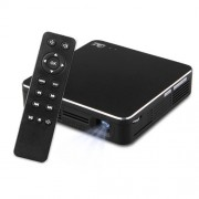 HDP200-RTS Mini Portable 100 ANSI Lumens DLP Projector with Remote Control Support MHL / HDMI / USB / AirPlay / Micacast(Black)