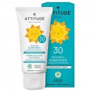 Attitude Baby & Kids Zonnebrandcreme SPF 30 - Parfumvrij 75g