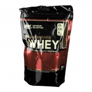 Optimum Nutrition 100 % Whey Gold Standard, Double Rich Chocolate, Pulver 450 g Pulver