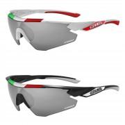 Salice 012 Italian Edition CRX Photochromic Sunglasses - Black/Grey