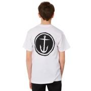 Captain Fin Co. Kids Boys Tally Ho Tee White