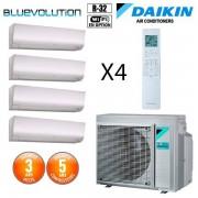 Daikin Quadri-split 5MXM90N + 3 X FTXM20N + FTXM35N
