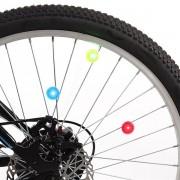 LED Cykelhjulsbelysning 2-pack Blå
