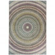 Merinos Bohemian Stijl Vloerkleed - Relief - Multi Pastel Kleuren-80 x 150 cm