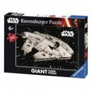 RAVENSBURGER puzzle (slagalice) - Star wars Millennium Falcon RA09784