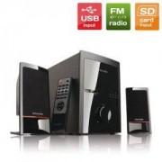 Колони MICROLAB M-700 U 2.1 USB/SD FM Radio с дистанционно, black mcrlbm700u21_VZ