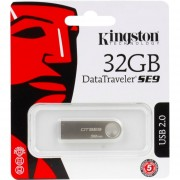 Pendrive Kingston 32 Gb Dt Se9 Usb 2.0 Metalico Original