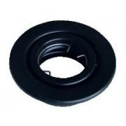 Beépíthető hidegtükrös fekete spot lámpatest, MR11-es foglalattal, 30°-ban állítható, (MAX 35W) D=78mm (Tracon TLC-1B)