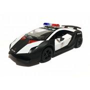 Lamborghini Sesto Elemento Police Metal Car