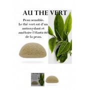 Éponge Konjac au Thé Vert