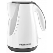 Black & Decker JC72 Electric Kettle(1.7 L, White, Black)