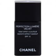 Chanel Perfection Lumiére Velvet maquillaje efecto piel seda de acabado mate tono 60 Beige SPF 15 30 ml